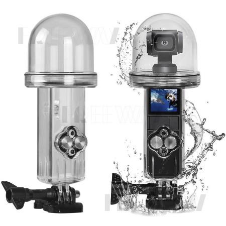 Аквабокс (подводный бокс) для экшн камеры DJI Osmo Pocket Waterproof Case