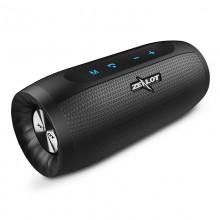 Беспроводная портативная Bluetooth колонка ZeaLot S16 10W 4000mAh AUX USB Черная