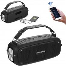 Беспроводная портативная Bluetooth колонка Hopestar A20 55W 6000mAh AUX USB TF IPX6 Черная