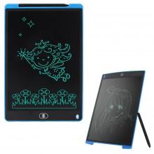 Графический планшет для рисования со стилусом детский LCD Writing Tablet 8.5in Черный/Синий