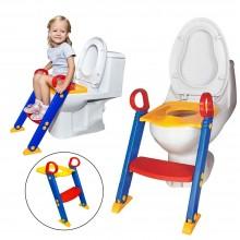 Детское сидение со ступенькой на унитаз с лесенкой складываемое Keter Toilet Trainer