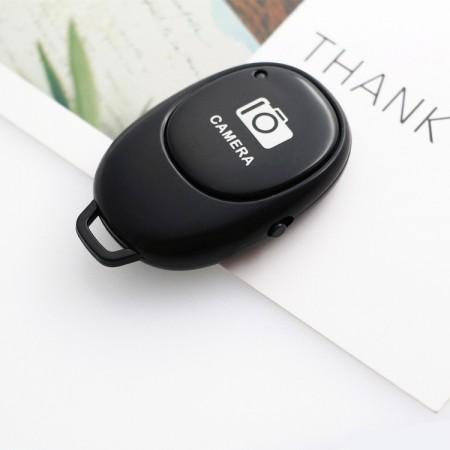 Bluetooth пульт для селфи для телефона Android и IOS в коробке Bluetooth Remote Черный